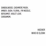 WHO IS ELIJAH HIS | HER EAU DE PARFUM 50ML