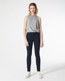 AG JEANS THE FARRAH LEGGING ANKLE SULFUR DARK COVE