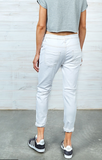 DRICOPER ACTIVE DENIM CRISPY WHITE JEANS