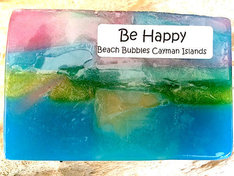 Be Happy! - Natural Luxury Soap Bar - 5 oz
