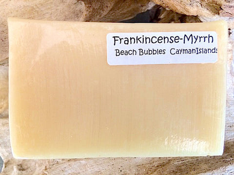 Frankincense & Myrrh - Natural Luxury Soap Bar - 5 oz