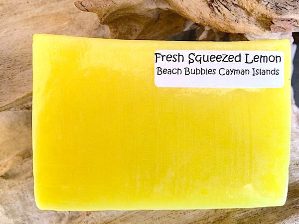 Fresh Squeezed Lemon - Luxury Soap Bar - 5 oz