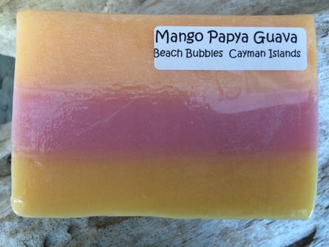 Mango Papaya Guava - Luxury Natural Goat Milk & Essential Oils Soap Bar - 5 oz