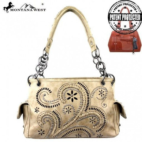 Swirl Patter Purse with Concealed Carry Holster