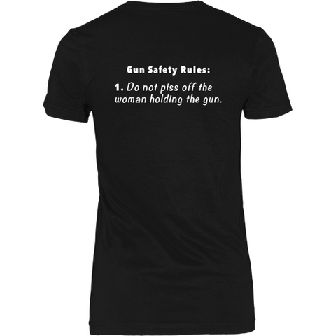 Gun Safety Rules T-Shirt