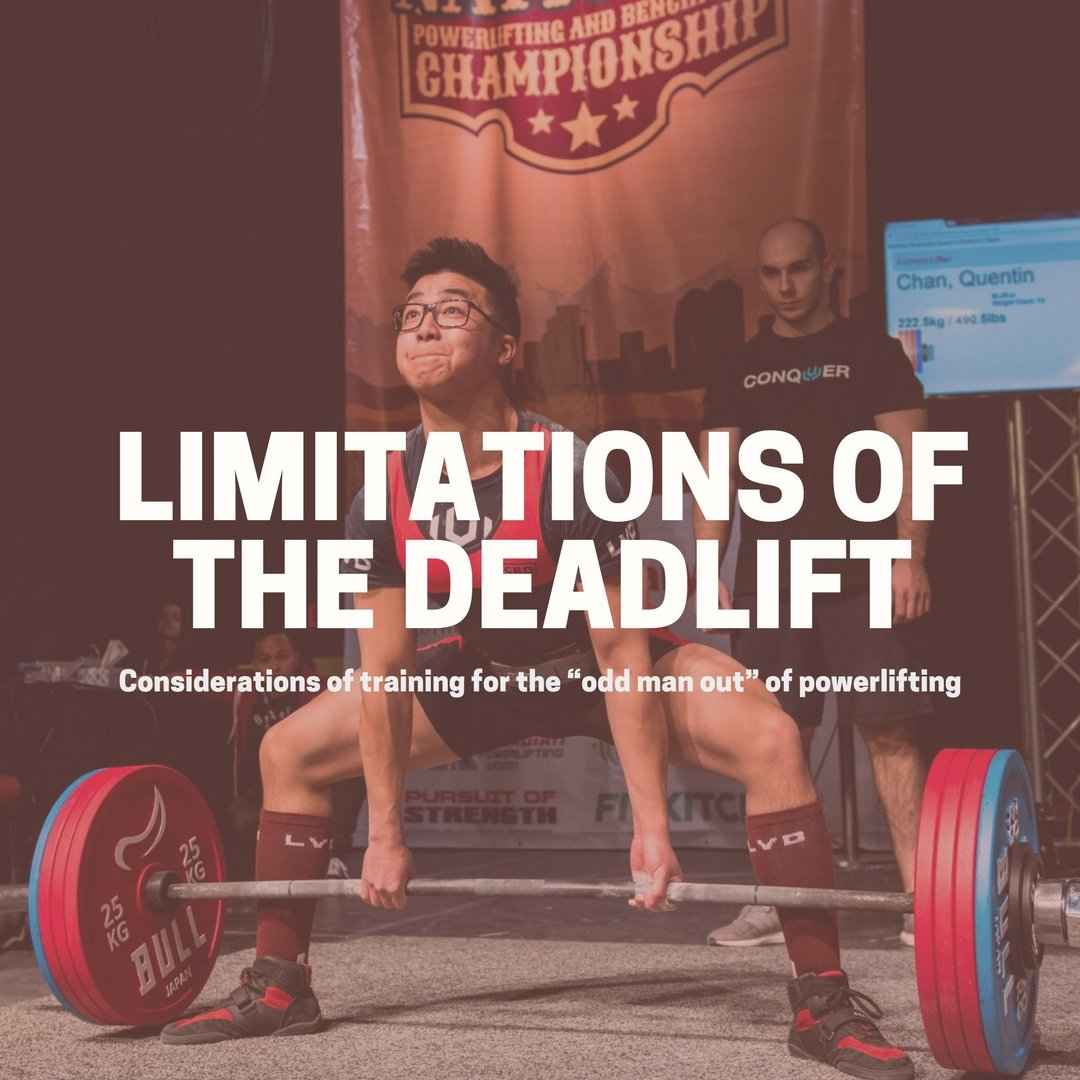 "1479dfb8b6ac Considerations of training for the ""odd man out"" of powerlifting ..."