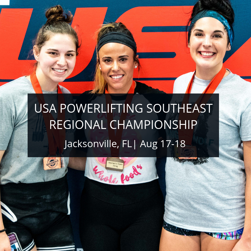 2019 USA Powerlifting Southeast Regional Championships (RG-2019-06)