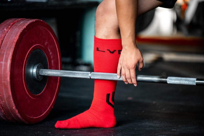 Accessories - DEADLIFT SOCKS (BLOOD BATH)