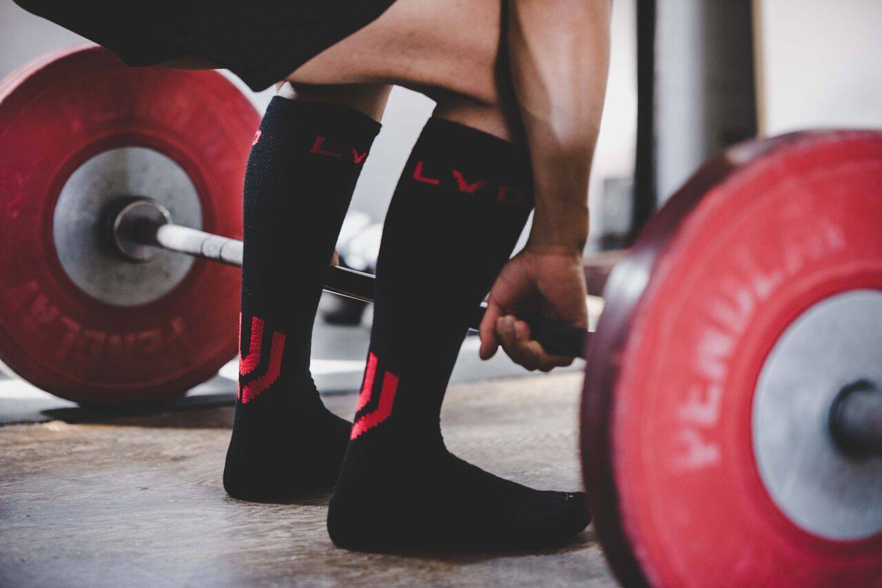 Accessories - DEADLIFT SOCKS (BLOODSHOT)