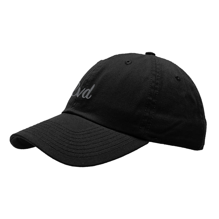 Accessories - SIGNATURE DAD HAT (BLACK)