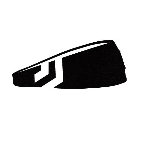 Headband - EVOLUTION HEADBAND (JET BLACK)