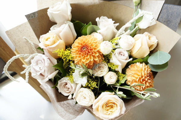 Garden Collection - Peachy Garden Bouquet
