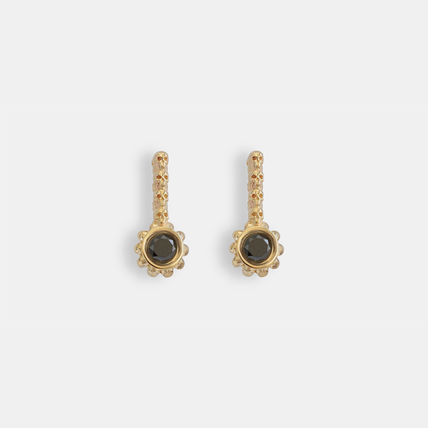 Skull Single Post Earrings