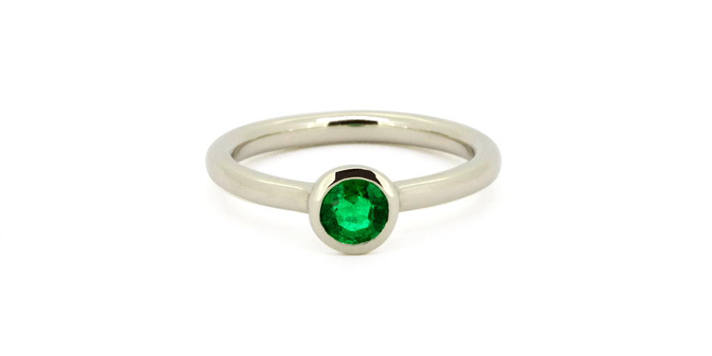 Split High Set - Emerald, ENGAGEMENT, fitzgerald jewelry, Fitzgerald Jewelry