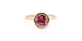 Candy Ring / Pink Tourmaline - ENGAGEMENT - <meta char - Fitzgerald Jewelry - Handmade in Williamsburg, Brooklyn, NYC