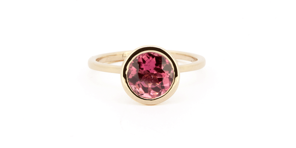 Candy Ring - Pink Tourmaline