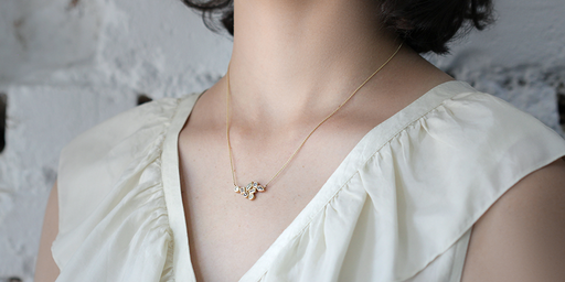 Bubble 13 Pendant by vendor - Bubble - Fine Jewelry Studio in Williamsburg, Brooklyn, NYC