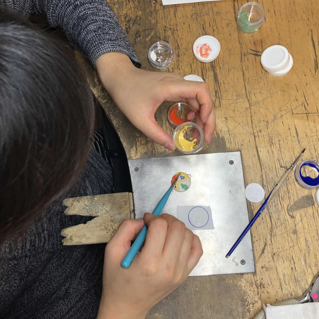 ENAMEL PRIVATE by vendor - WORKSHOP - Fine Jewelry Studio in Williamsburg, Brooklyn, NYC