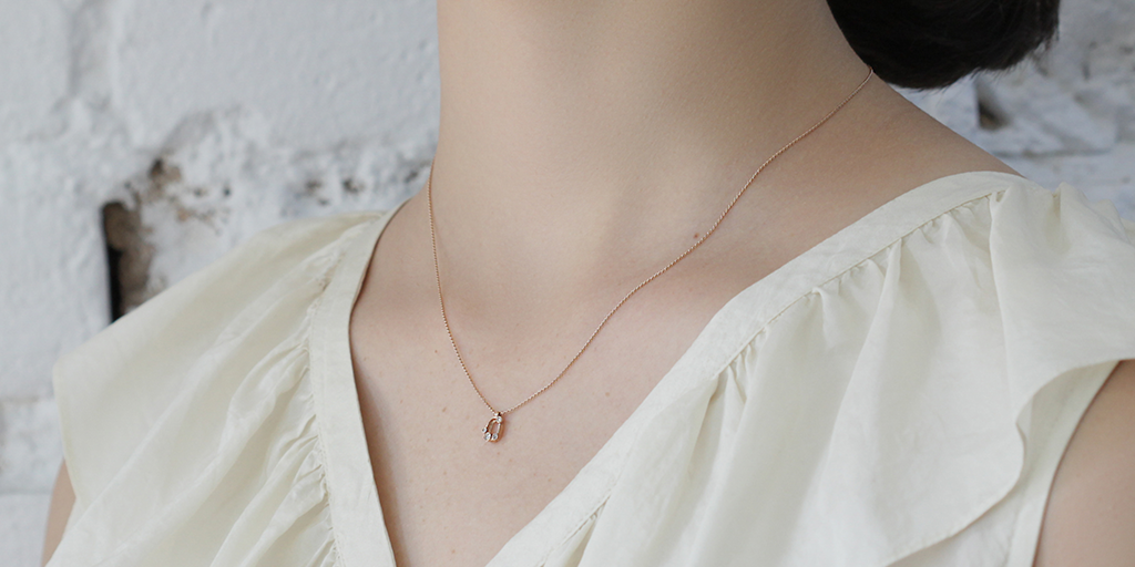 Melee Circle Necklace by vendor - MELEE - Fine Jewelry Studio in Williamsburg, Brooklyn, NYC