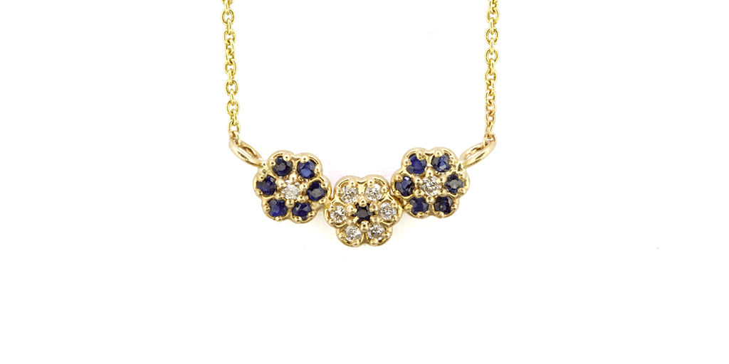 in tones uttoxeter equilibrium gold available flower plated product rose dusky centre garden necklace from strawberry