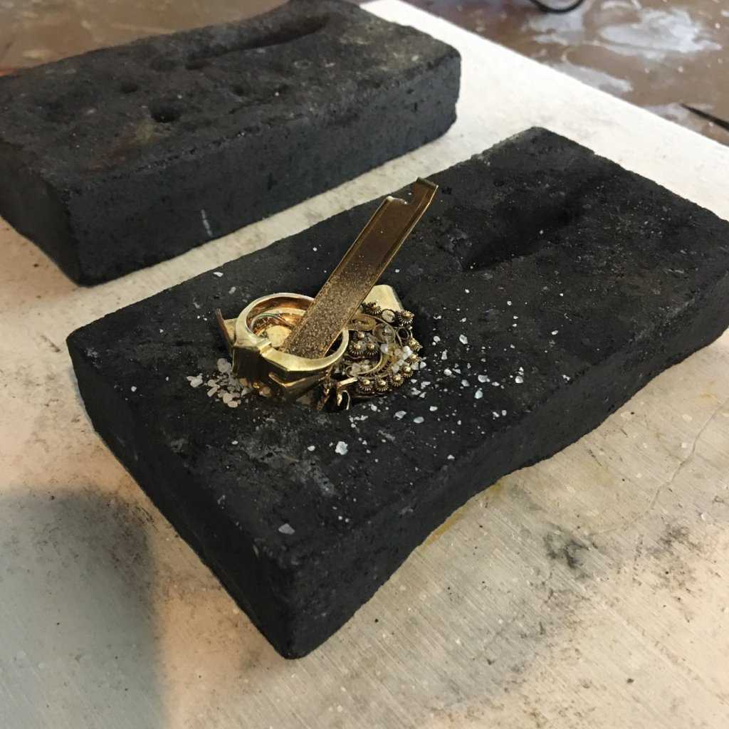 GOLD ALLOYING + RECYCLING PRIVATE - WORKSHOP - <meta char - Fitzgerald Jewelry - Handmade in Williamsburg, Brooklyn, NYC