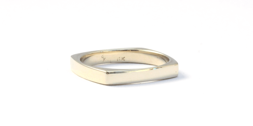 Thin Square / Women's by vendor - WEDDING - Fine Jewelry Studio in Williamsburg, Brooklyn, NYC