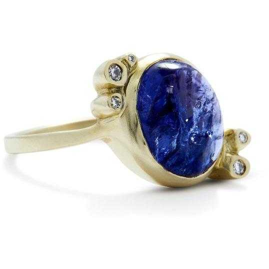 Bubble Ring 23 / Tanzanite - Fitzgerald Jewelry