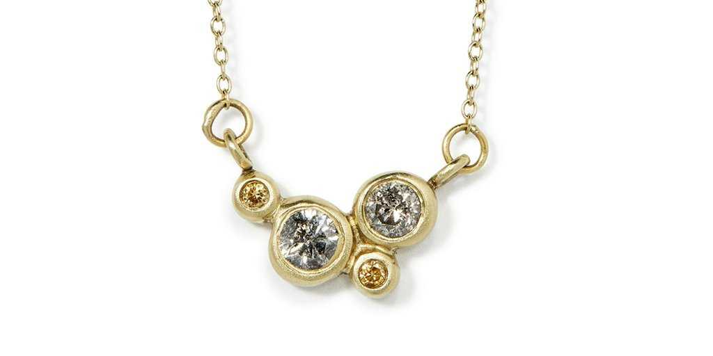 Bubble 5 Pendant - Bubble - <meta char - Fitzgerald Jewelry - Handmade in Williamsburg, Brooklyn, NYC