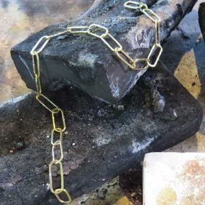 CHAIN MAKING - Fitzgerald Jewelry