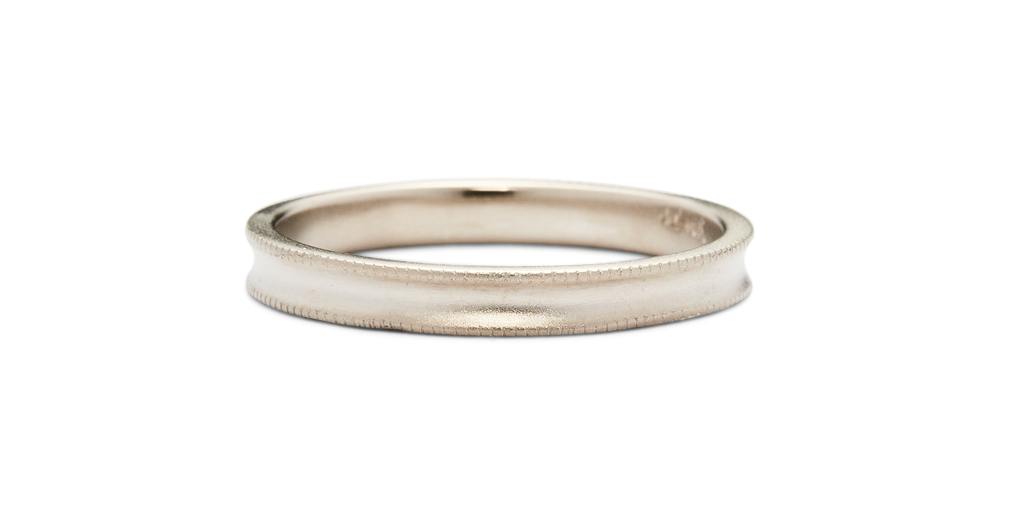 Groove Band / Mens - Fitzgerald Jewelry