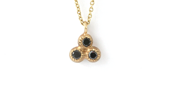 Melee 24A Pendant / Black Diamonds