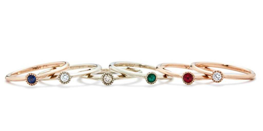 Melee Ball Ring / Diamond, Ruby, Sapphire, Emerald by vendor - MELEE - Fine Jewelry Studio in Williamsburg, Brooklyn, NYC
