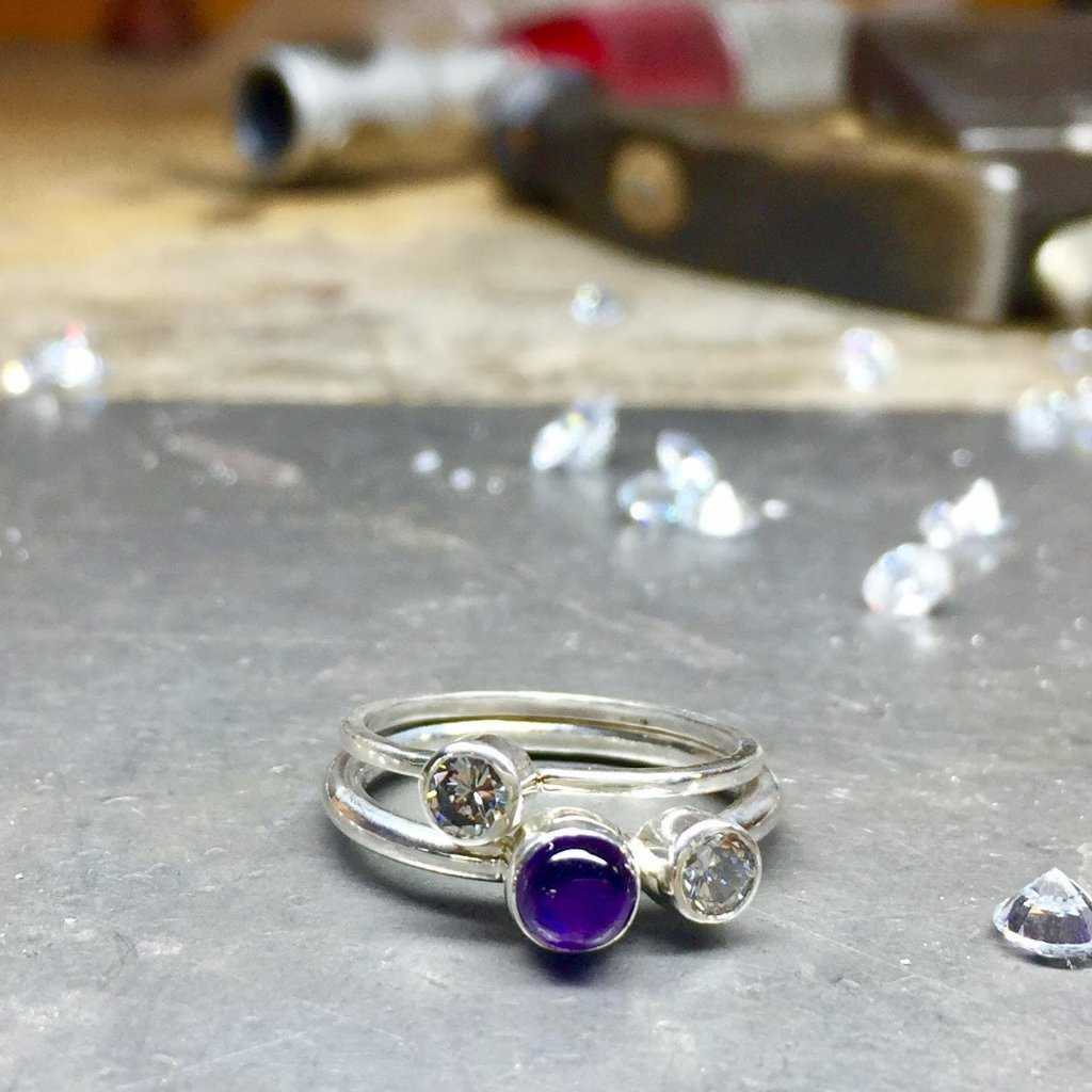 TUBE SETTING - Fitzgerald Jewelry
