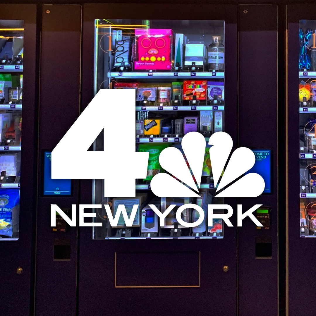 NBC New York - 30 Rock's New Vending Machines Offer Kimchi, Engagement Ring, Among Other Random Items
