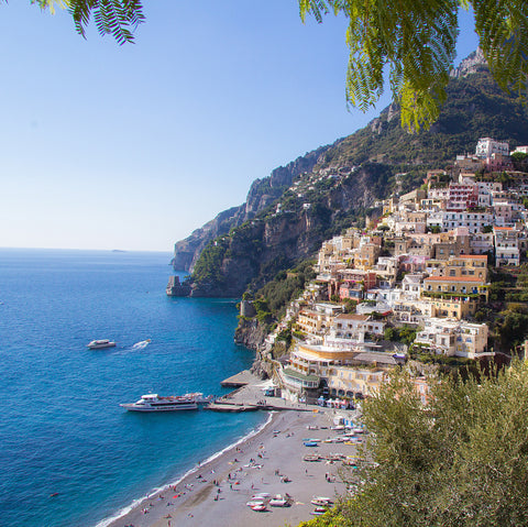 Amalfi Coast for Jane Summers White Dress Collection Designer Wedding Dress Blog Honeymoon packing destination