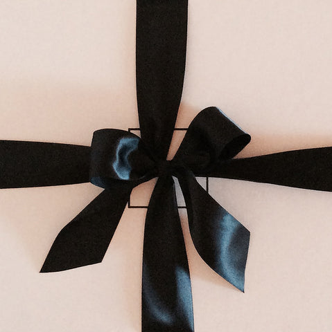 Jane Summers Gift Box with Black Bow