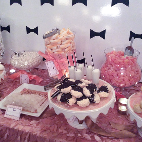 Southern Weddings V8 Launch Party Chic Sweets Dessert Table Jane Summers Blog See Jane