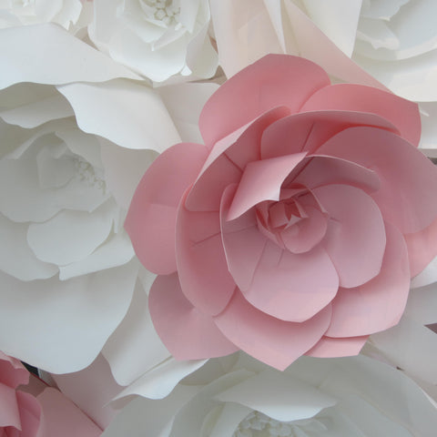 Paper Flowers from Carolina Herrera Store Madison Avenue New York Created by Eloise Corr Danch