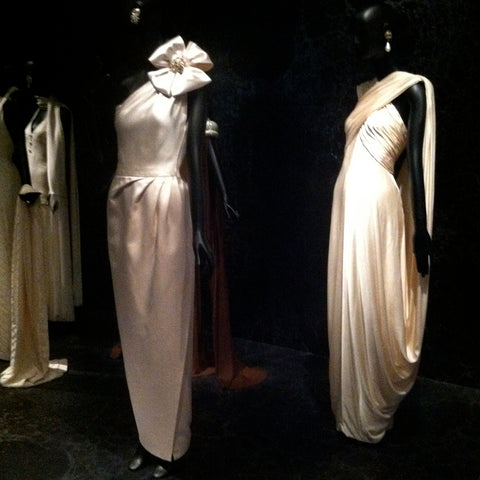 The Met Costume Exhibit Jacqueline de Ribes white dress and gown inspiration for wedding dress and gown idea