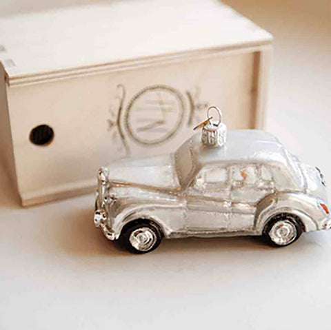 Getaway Car Ornament Holiday Wedding Favor