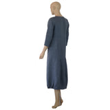 Linen French St Dress Back