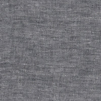 Zeega Linen Fabric Swatch Black Variegated