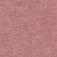 Zeega Linen Fabric Swatch Red Variegated