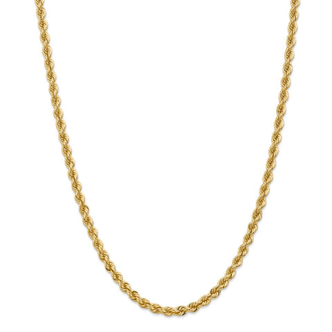 14k 5mm Regular Rope Chain