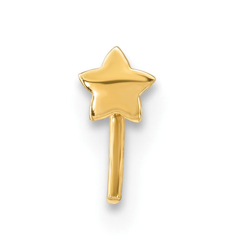 14k Star Nose Stud
