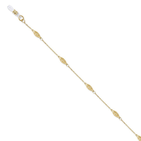Gold-tone 30in Eyeglass Holder Chain