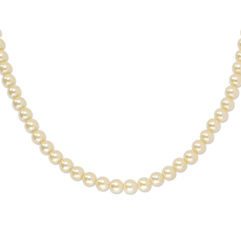 Gold-tone Cultura Simulated Pearl 18in Necklace
