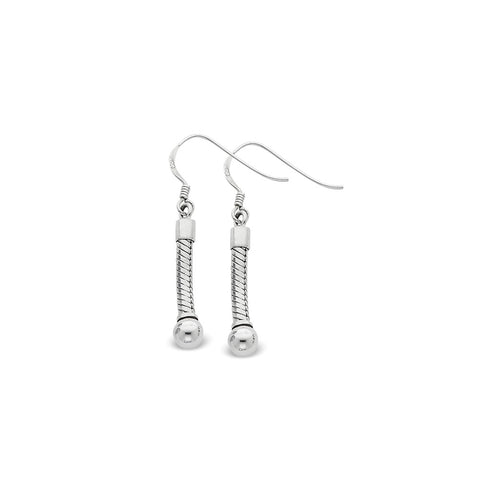 Sterling Silver Reflections Medium Earring