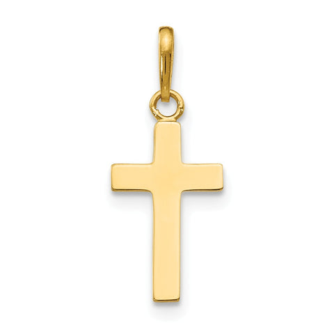 14k Children's Cross Pendant