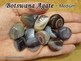 Botswana Agate tumbled stone — multiple sizes available
